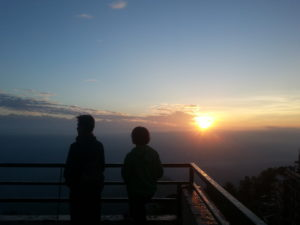 Sunrise view from Nagarkot